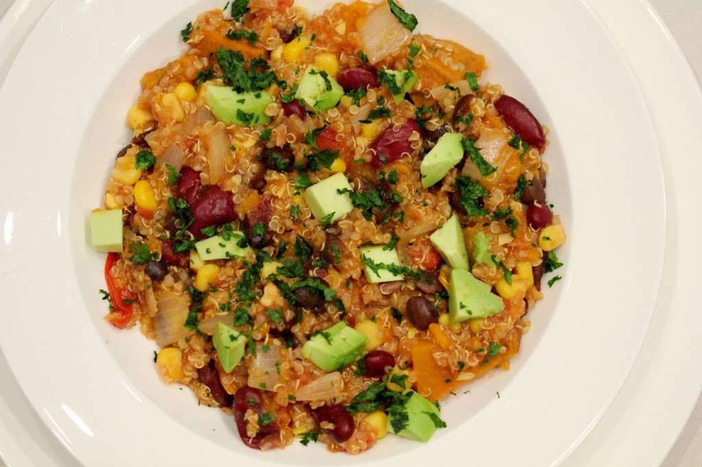 Healthy Vegetarian Mexican Recipes  e Pot Mexican Quinoa Move Fuel Love
