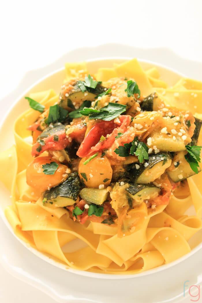 Healthy Vegetarian Pasta Recipes  Easy Ve arian Pasta Recipe 30 Minute Meal