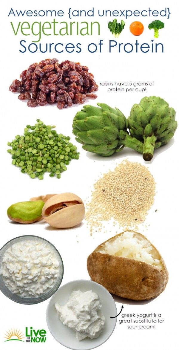 Healthy Vegetarian Protein  8 Unexpected High Protein Foods for Ve arians