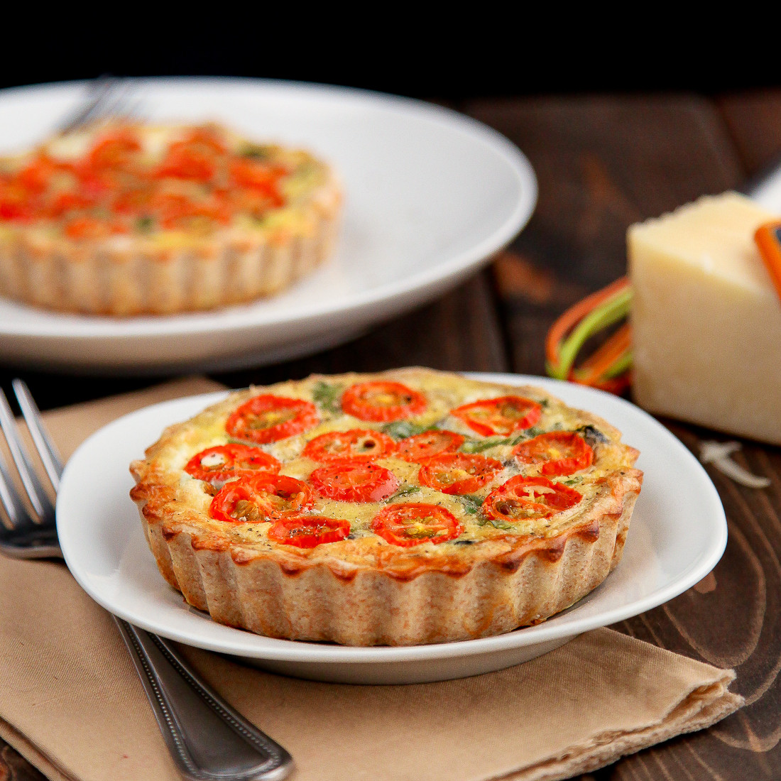 Healthy Vegetarian Quiche  Healthy Whole Wheat Ve able Quiche Snixy Kitchen