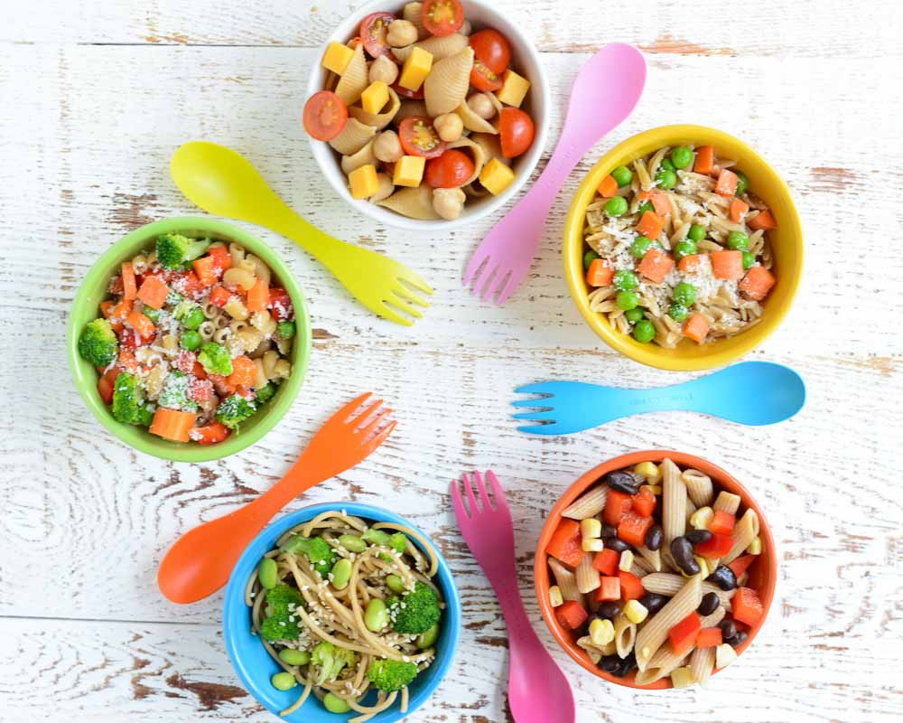 Healthy Vegetarian Recipes For Kids  5 Quick and Easy Kid Friendly Pasta Salads
