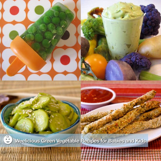 Healthy Vegetarian Recipes For Kids  Weelicious Green Ve able Recipes For Kids