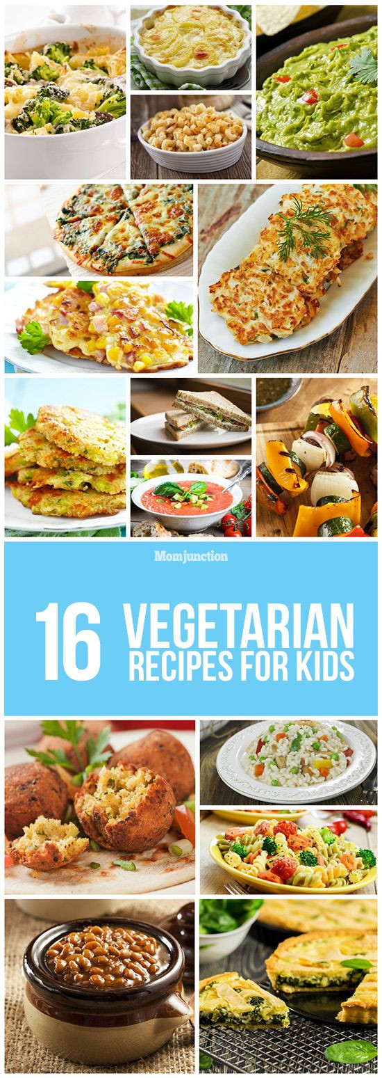 Healthy Vegetarian Recipes For Kids  16 Healthy Ve arian Recipes For Kids