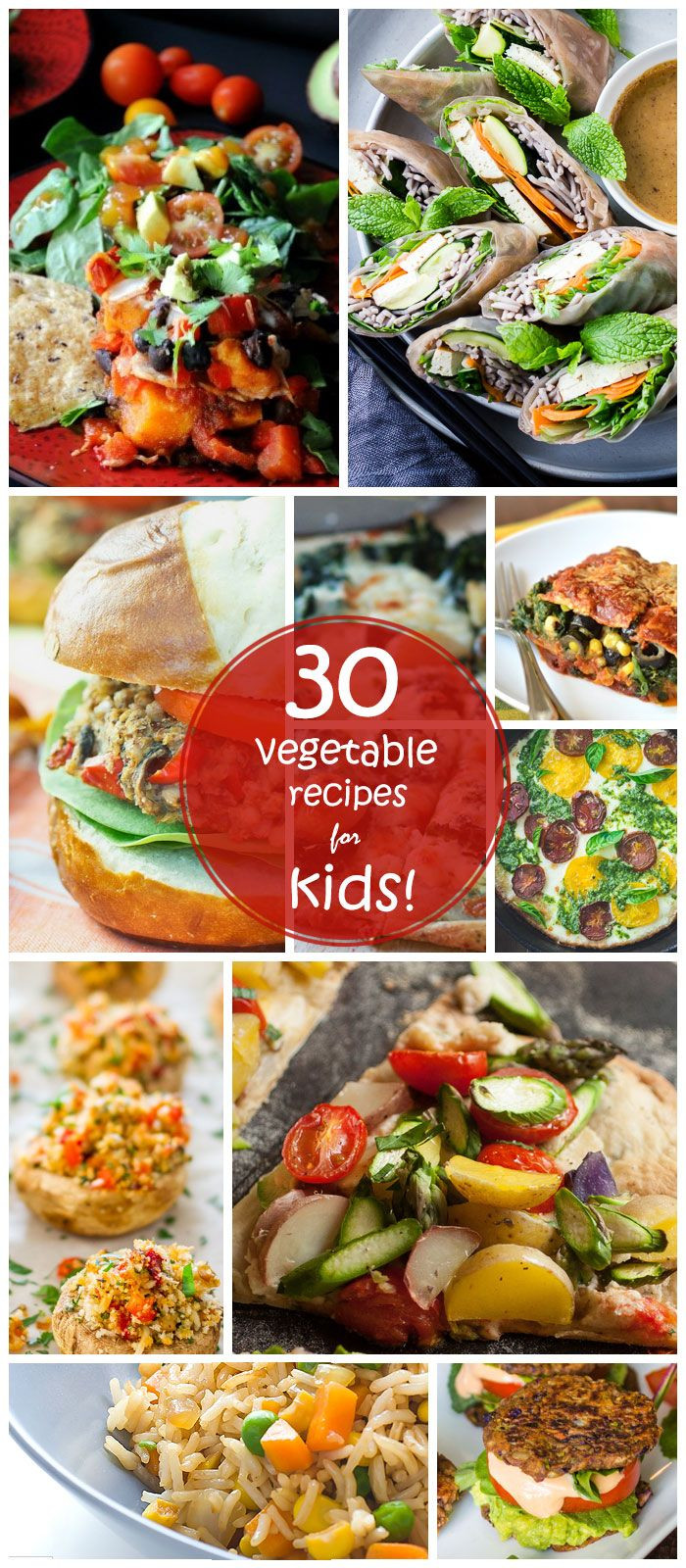 Healthy Vegetarian Recipes For Kids  30 Easy Ve arian Recipes for Kids