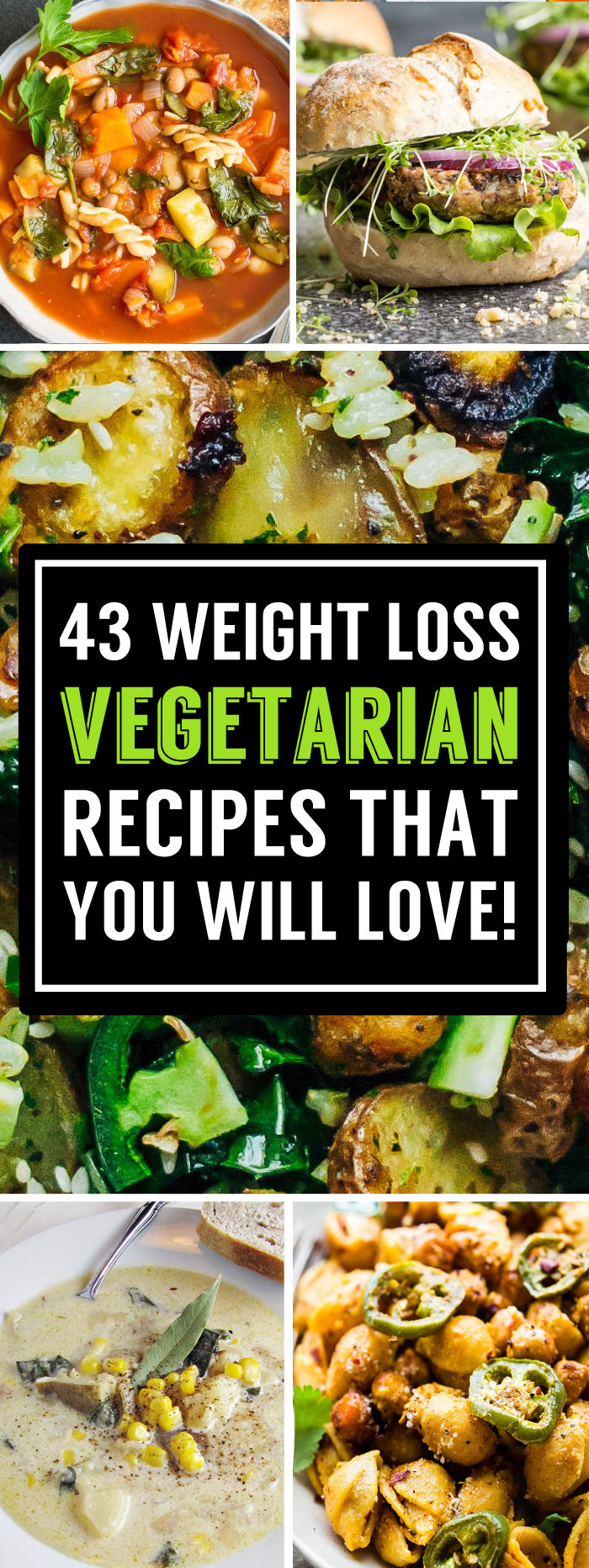 Healthy Vegetarian Recipes For Weight Loss  43 Delicious Ve arian Recipes That Can Help Boost Your