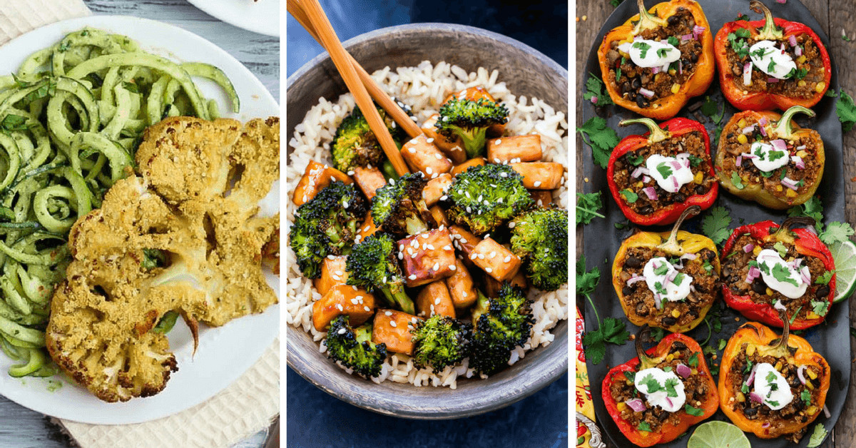 Healthy Vegetarian Recipes For Weight Loss  29 Yummy Vegan Weight Loss Recipes for Dinner [Healthy