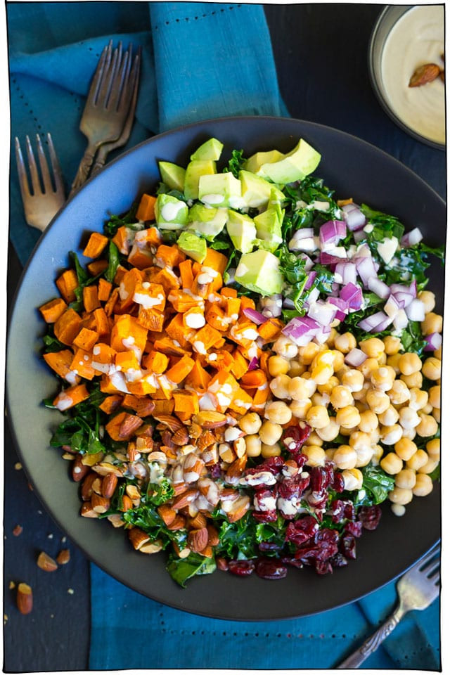 Healthy Vegetarian Salad Recipes  25 Hearty Vegan Salads That Will Fill You Up • it doesn t