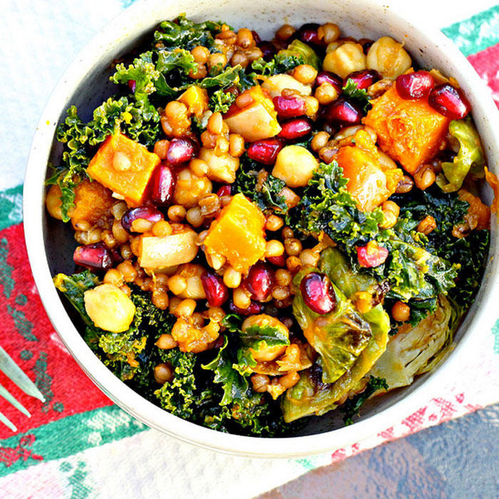 Healthy Vegetarian Salad Recipes  Winter Salad Recipes for Healthy Dinner Ideas