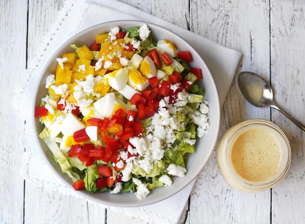 Healthy Vegetarian Salads  Ve arian Cobb Salad