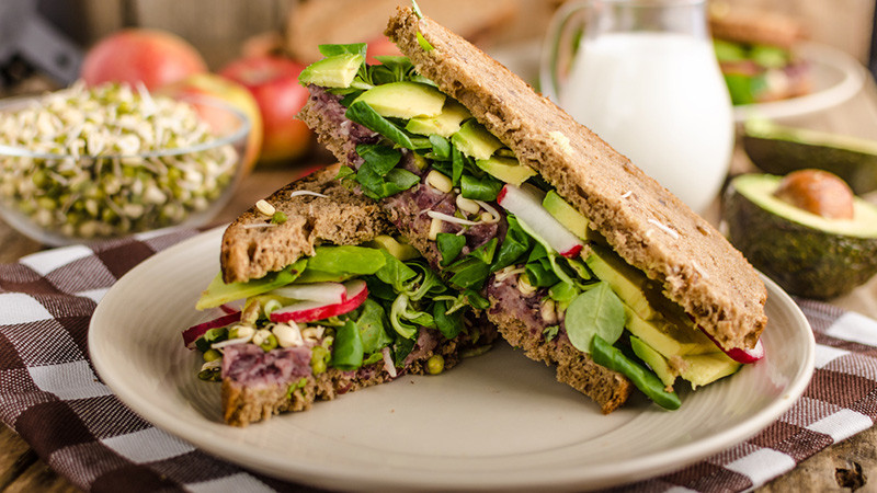 Healthy Vegetarian Sandwich Recipes  Eight Healthy Ve arian Sandwich Recipes