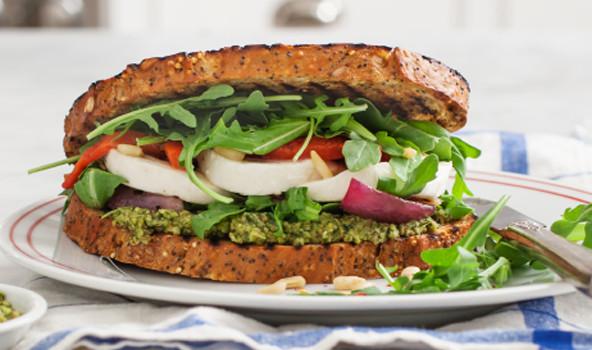 Healthy Vegetarian Sandwich Recipes  Healthy Ve arian Sandwich Recipes