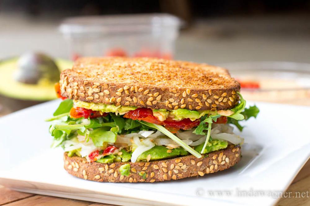 Healthy Vegetarian Sandwich Recipes  Meatless Monday Recipe Quick Vegan Meals Snacks