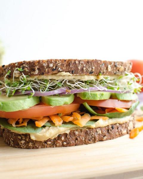 Healthy Vegetarian Sandwich Recipes  20 Healthy Sandwich Recipes