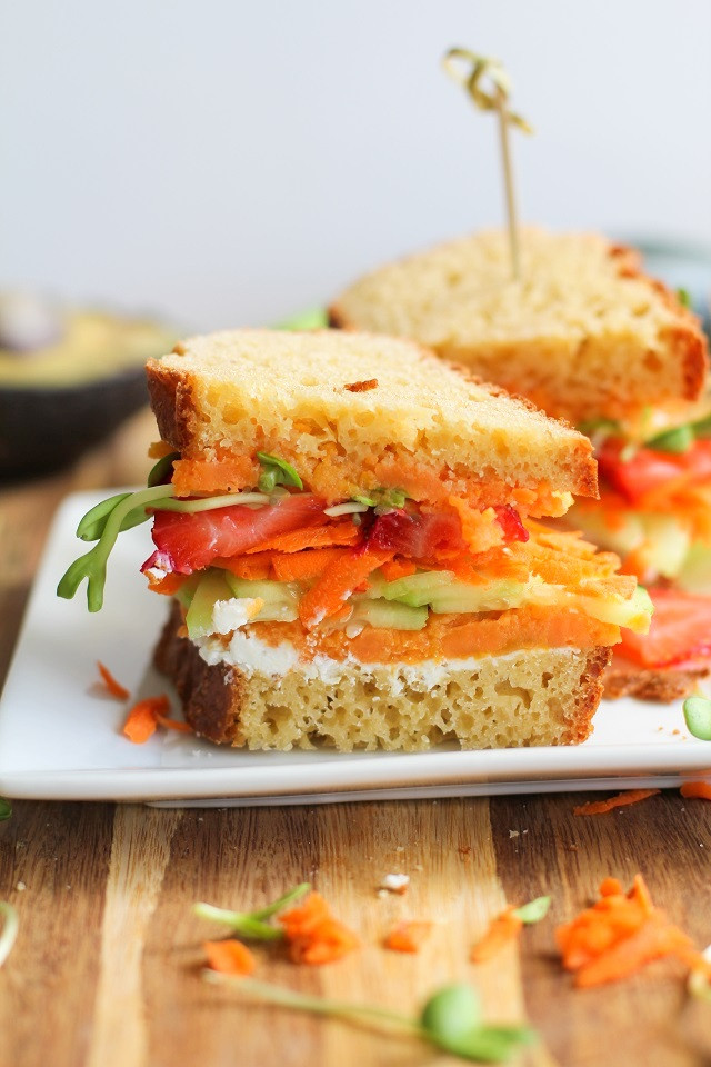 Healthy Vegetarian Sandwich Recipes  Healthy Lunch Ideas to Pack for Work 40 recipes