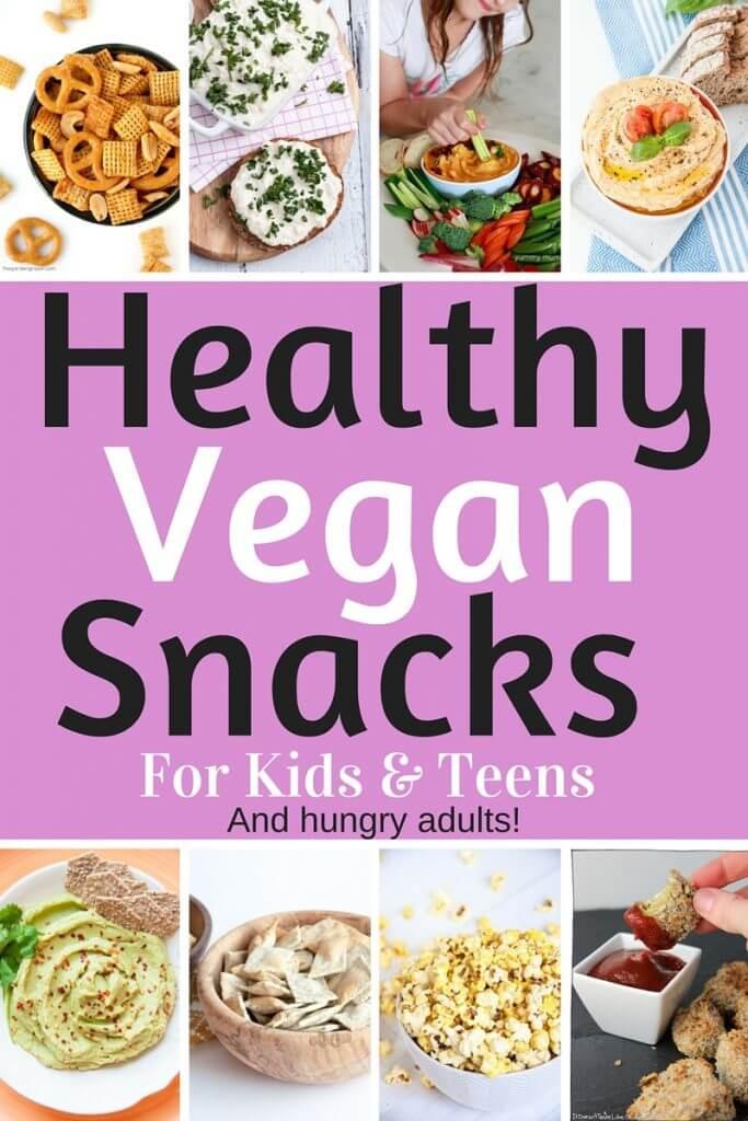 Healthy Vegetarian Snacks  Healthy Vegan Snacks for Kids & Teens Savory Edition