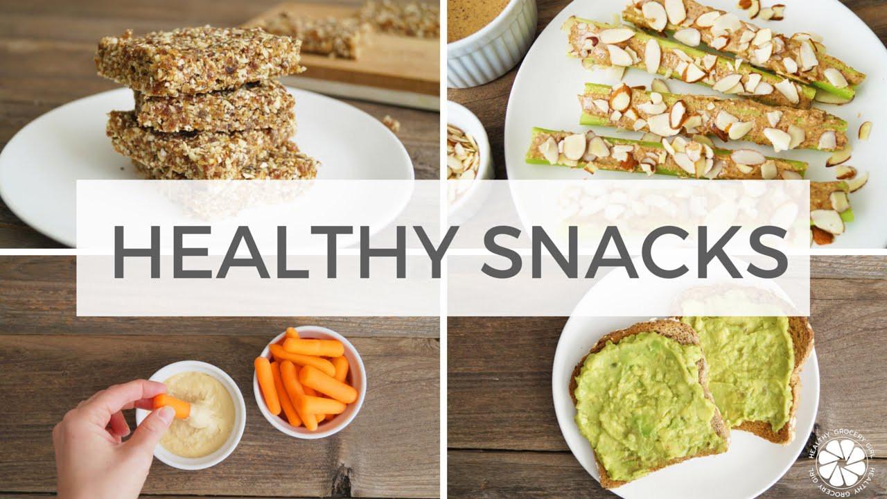 Healthy Vegetarian Snacks  4 Healthy Snack Ideas