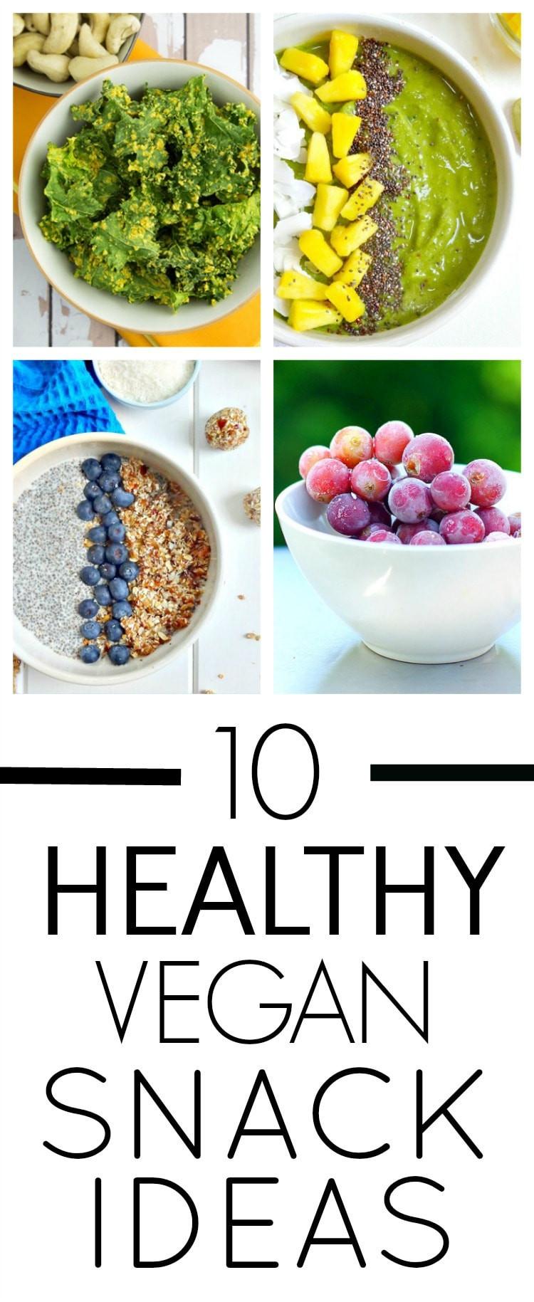 Healthy Vegetarian Snacks  10 Healthy Vegan Snack Ideas The Glowing Fridge