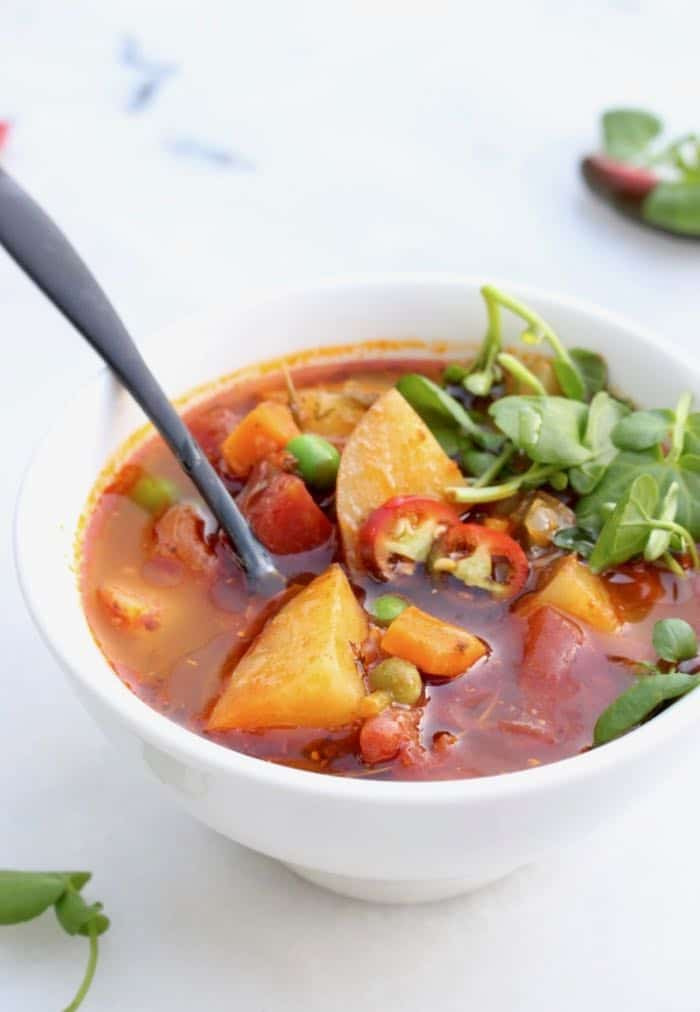Healthy Vegetarian Soup Recipes  Healthy Vegan Potato Soup Recipe Veggie Society