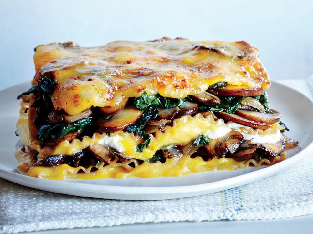 Healthy Veggie Lasagna  healthy ve able lasagna