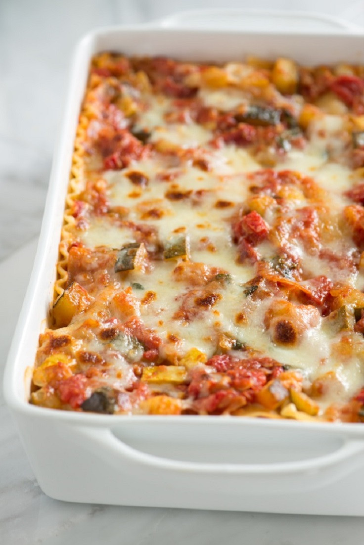 Healthy Veggie Lasagna  Top 10 Healthy Labor Day Dinner Recipes Top Inspired