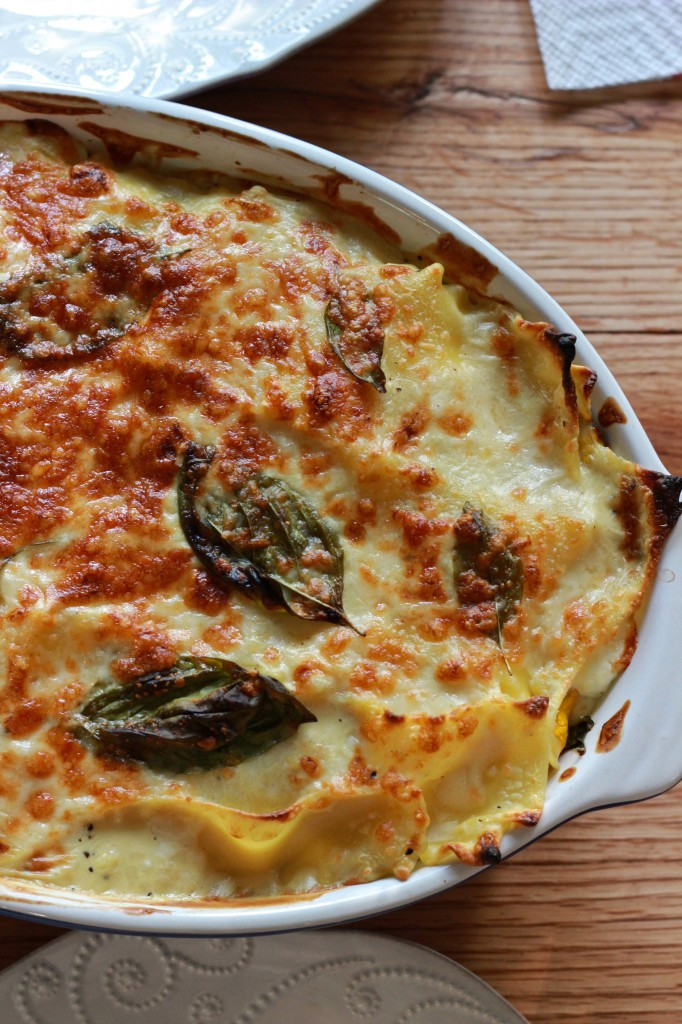 Healthy Veggie Lasagna  Healthy White Ve able Lasagna Oysters & Pearls