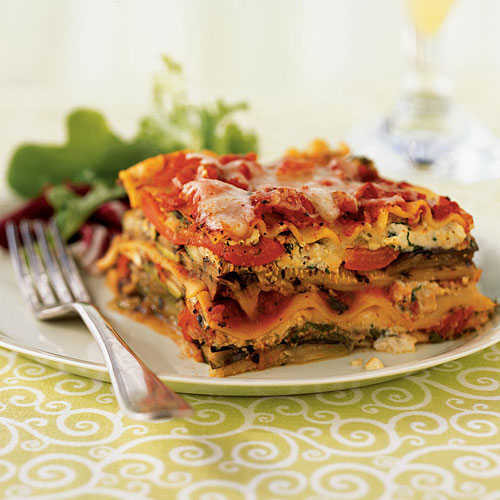 Healthy Veggie Lasagna  Grilled Ve able Lasagna Summer Squash and Zucchini