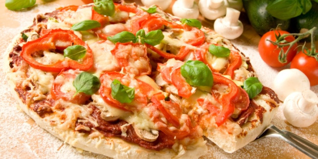 Healthy Veggie Pizza Recipe  Healthy Roasted Ve able Pizza Recipe