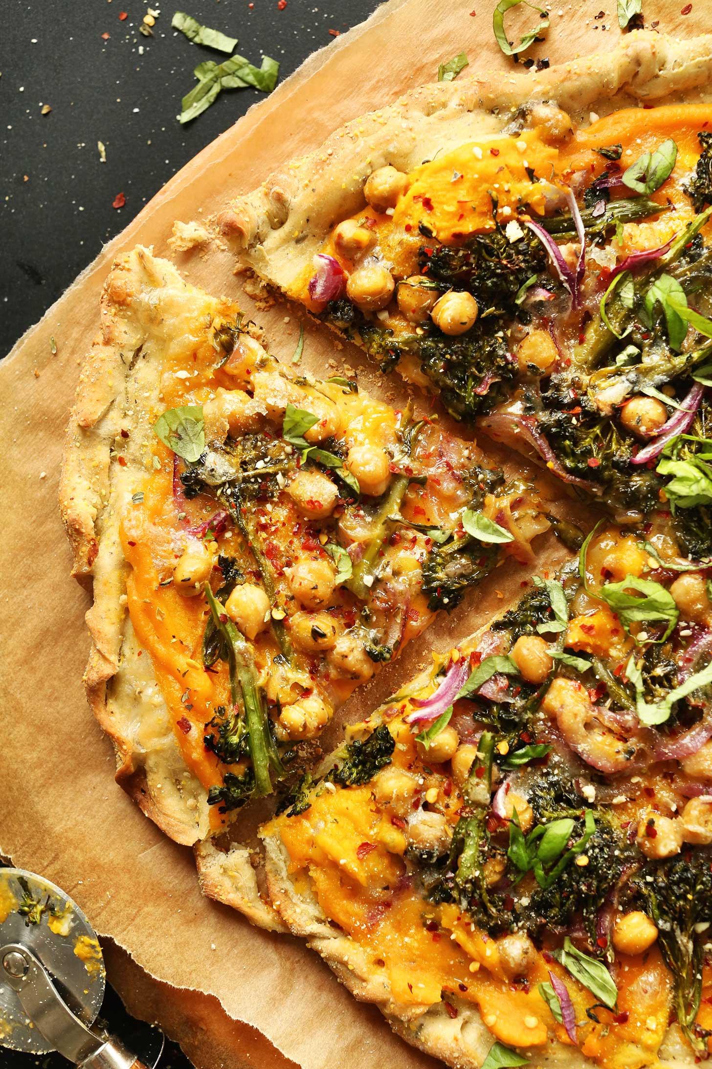 Healthy Veggie Pizza Recipe  Butternut Squash Veggie Pizza