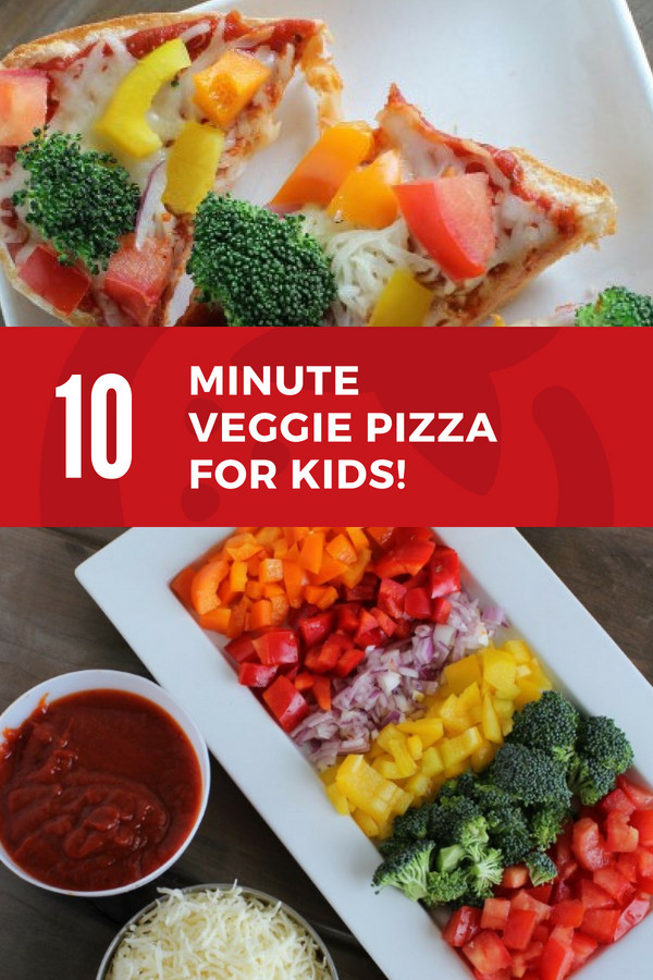 Healthy Veggie Pizza Recipe  10 Minute Veggie Pizza Recipe