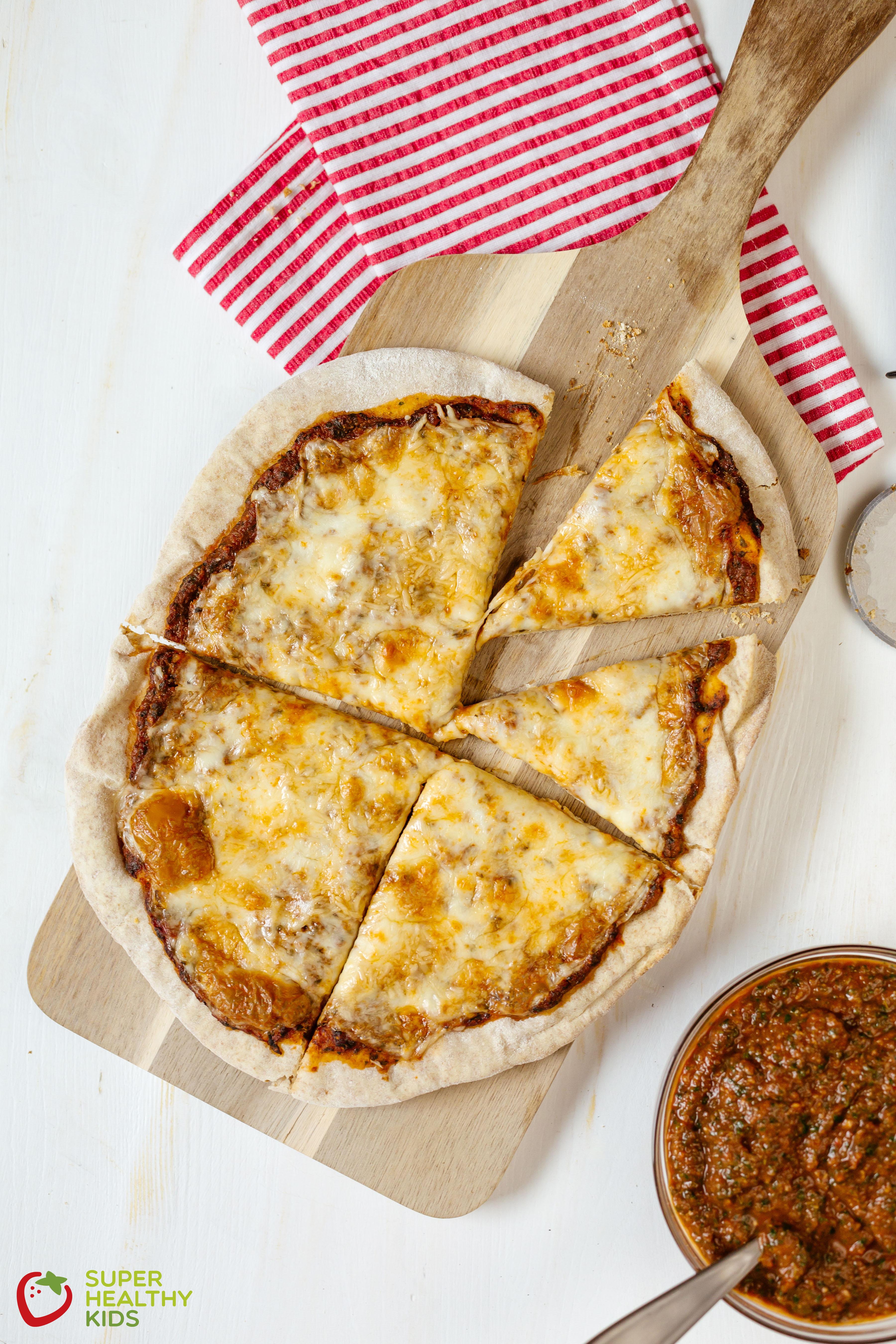 Healthy Veggie Pizza Recipe  Hidden Veggie Pizza Recipe