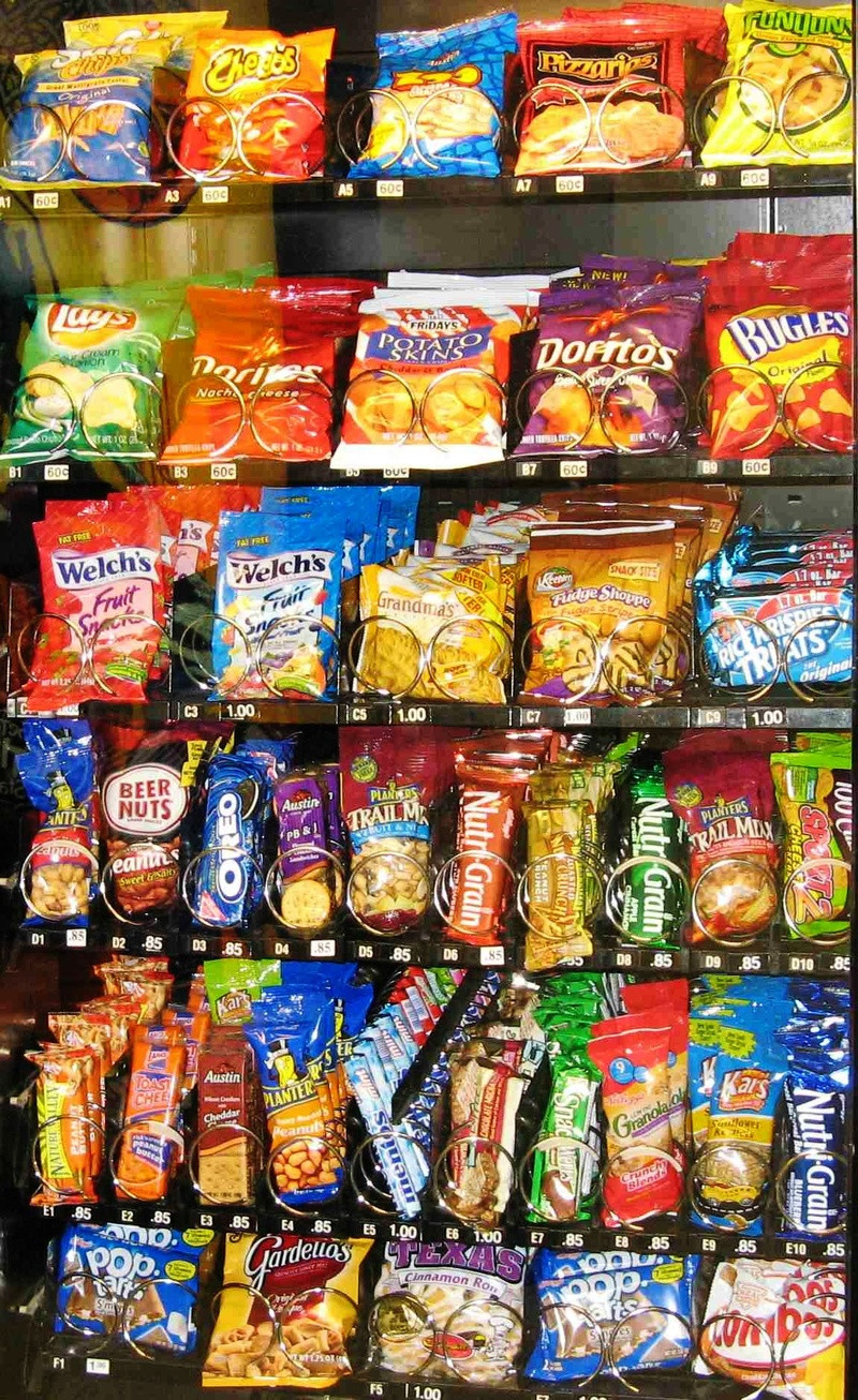 Healthy Vending Machine Snacks  VendingChat offers you free vending machines and locating