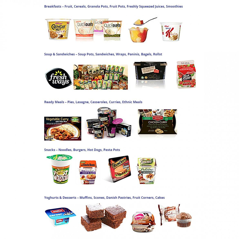 Healthy Vending Machine Snacks List  Healthy Vending Machines Executive VendingExecutive Vending