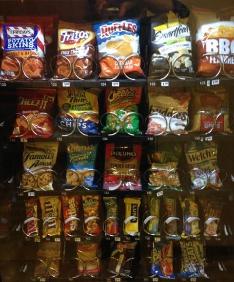 Healthy Vending Machine Snacks List  Healthier Snacks in Vending Machines at Mercy Health Muskegon