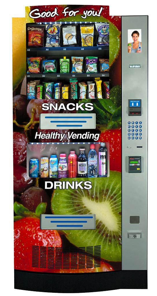 Healthy Vending Machine Snacks List  Healthy Snack Vending Machine Options