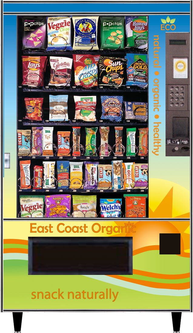 Healthy Vending Machine Snacks List  Did you know We offer healthy vending options for schools