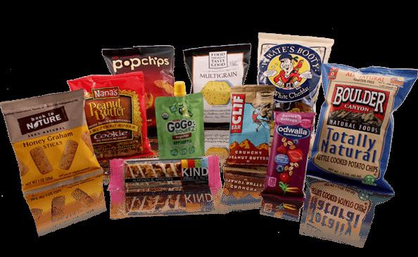 Healthy Vending Machine Snacks List  Healthy Vending Machine Snacks from HealthyYOU Vending