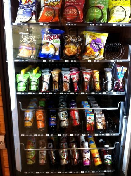 Healthy Vending Machine Snacks List  Healthy Vending Machine Snacks List to Pin on