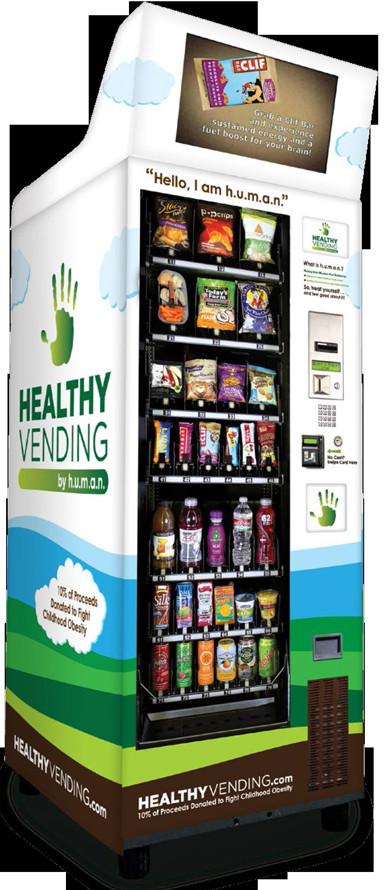 Healthy Vending Machine Snacks  School Vending Machines Healthy Vending Machines In Schools
