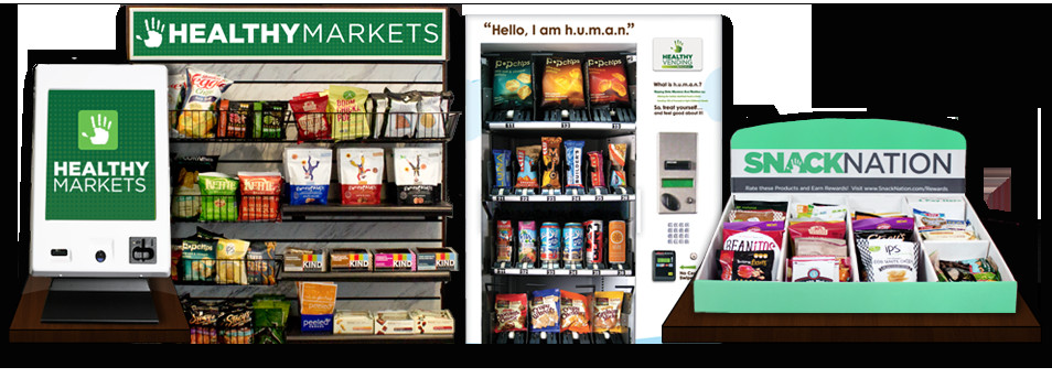 Healthy Vending Machine Snacks  Healthy Micro Markets & Snack Delivery in Houston TX