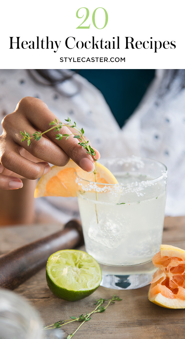 Healthy Vodka Drinks  20 Healthy Alcoholic Drinks Perfect for the Summer