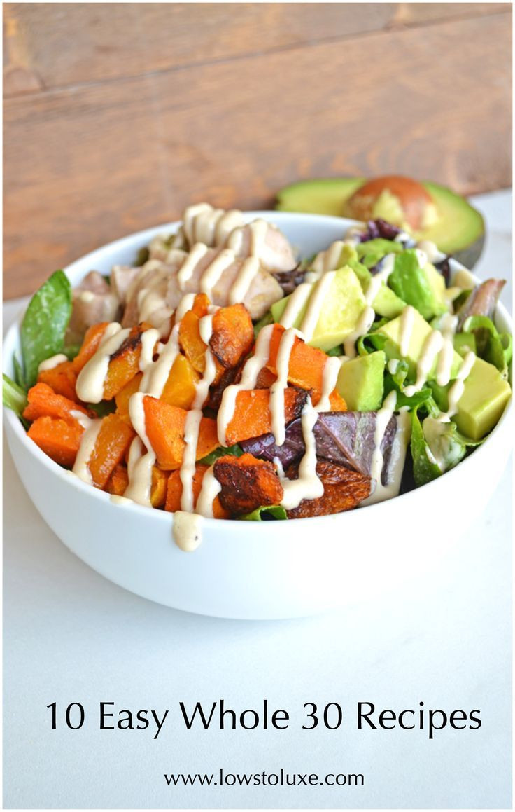 Healthy Weekday Lunches  1000 ideas about Whole 30 Ve arian on Pinterest