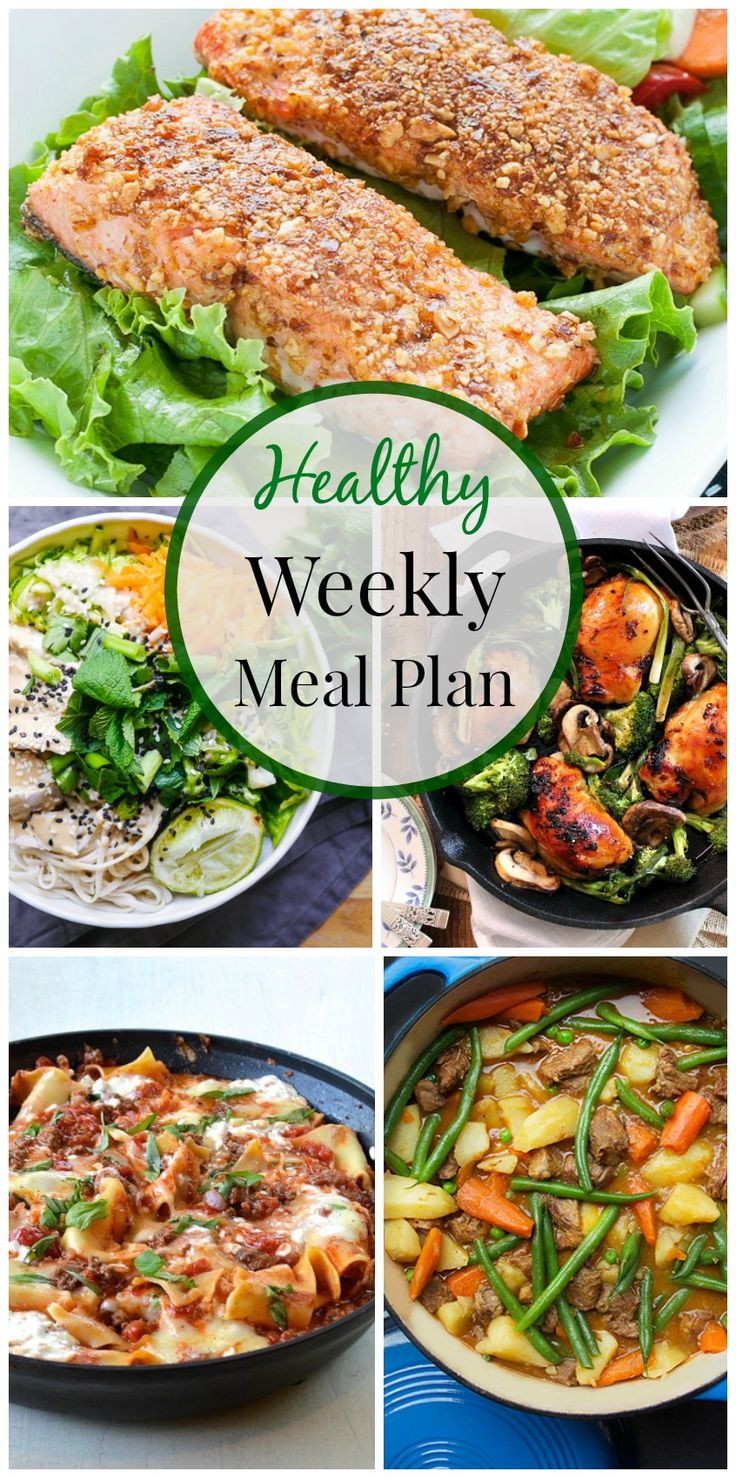Healthy Weekday Lunches  Healthy Weeknight Meal Plan 10
