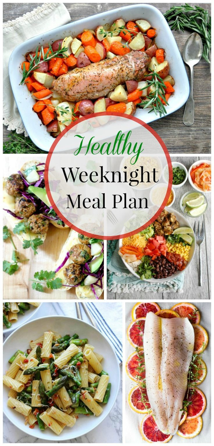 Healthy Weekday Lunches  Healthy Weeknight Meal Plan 17