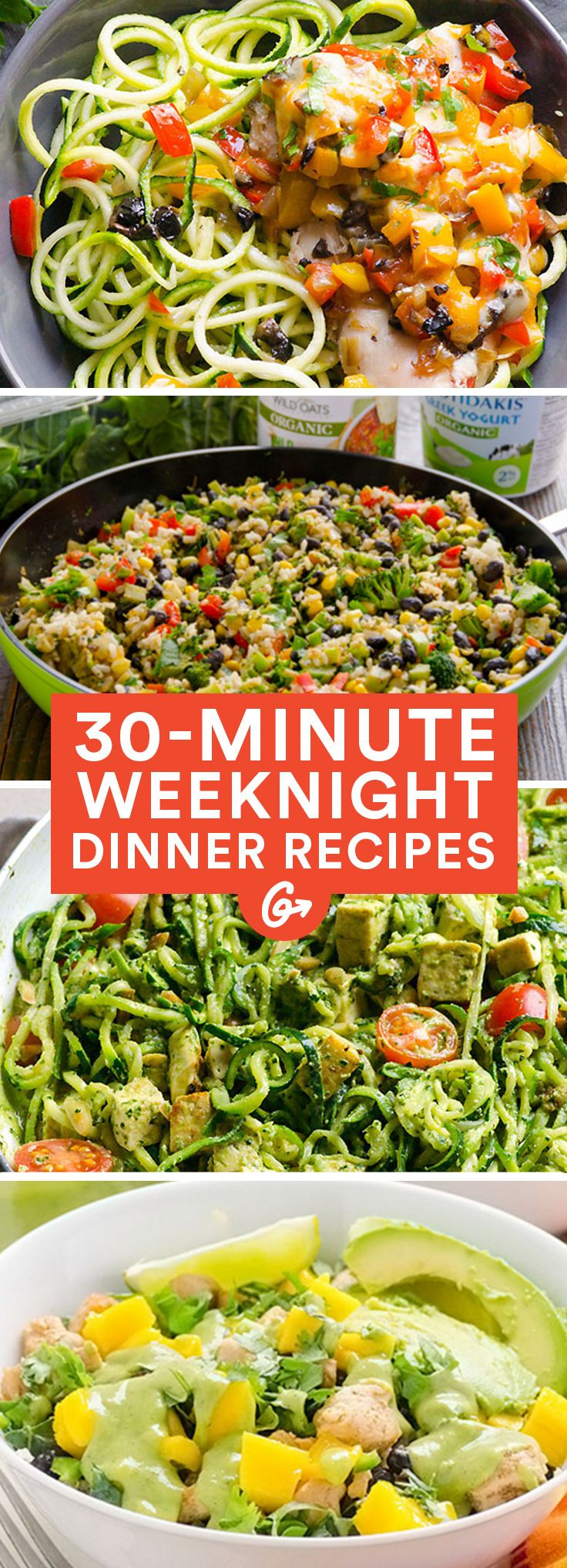 Healthy Weekday Lunches  The 25 best Healthy weeknight dinners ideas on Pinterest