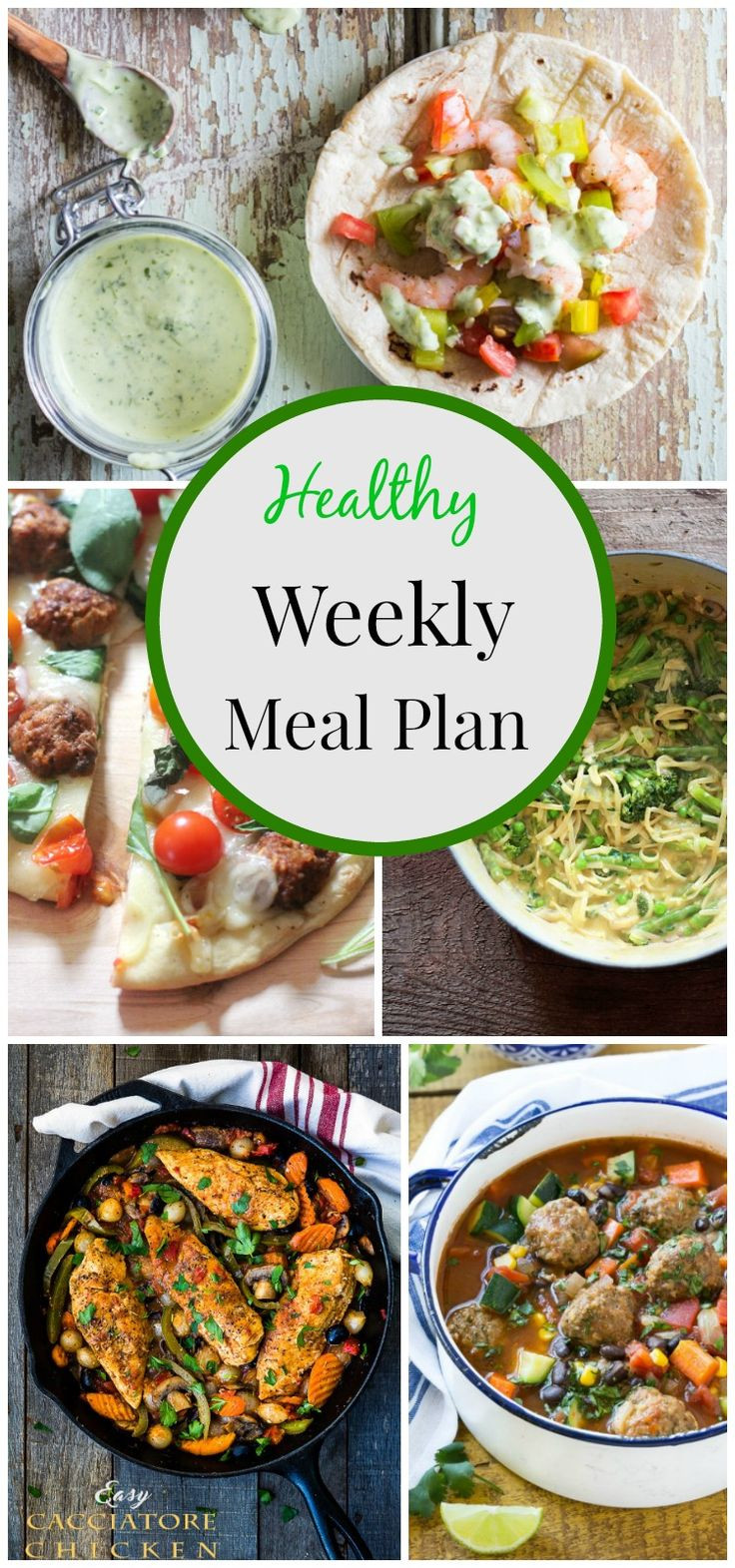 Healthy Weekday Lunches  8 best RECIPES MEAL MENU PLANS images on Pinterest