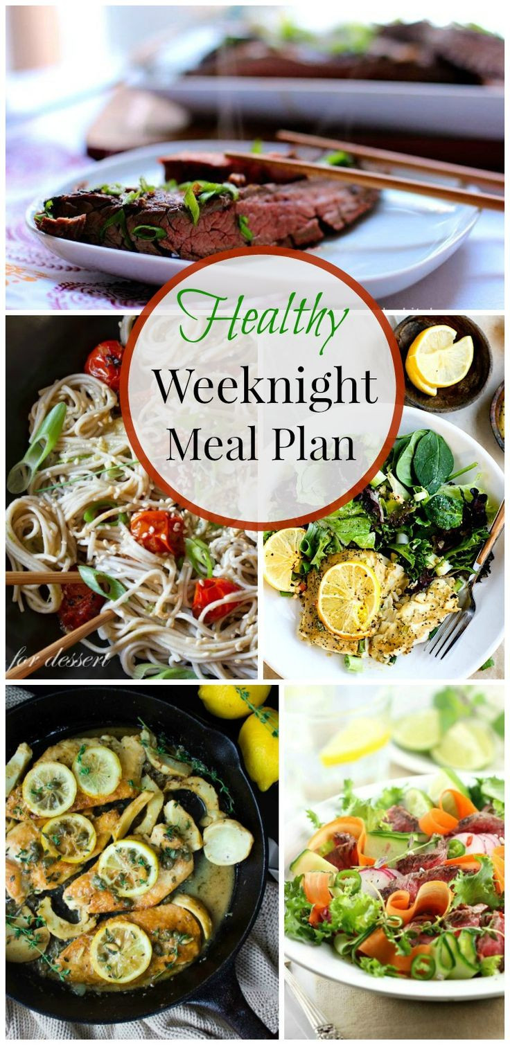 Healthy Weekday Lunches  Healthy Weeknight Meal Plan 19