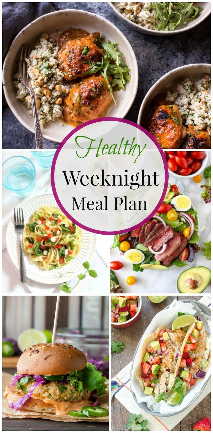Healthy Weekday Lunches  Healthy Weeknight Meal Plan 20