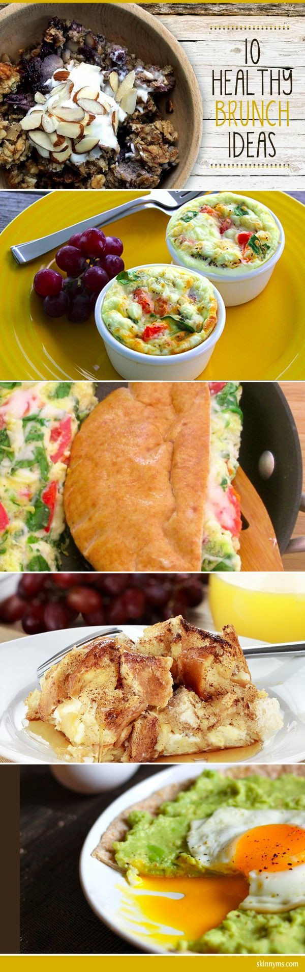 Healthy Weekend Breakfast  10 Brunch Ideas