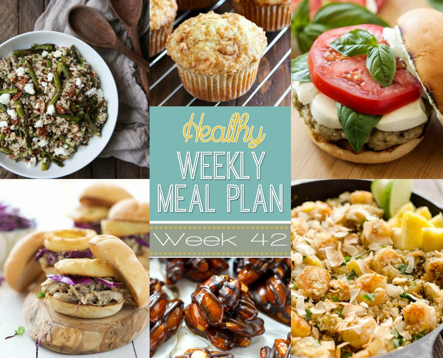 Healthy Weekend Breakfast  Healthy Weekly Meal Plan Week 42
