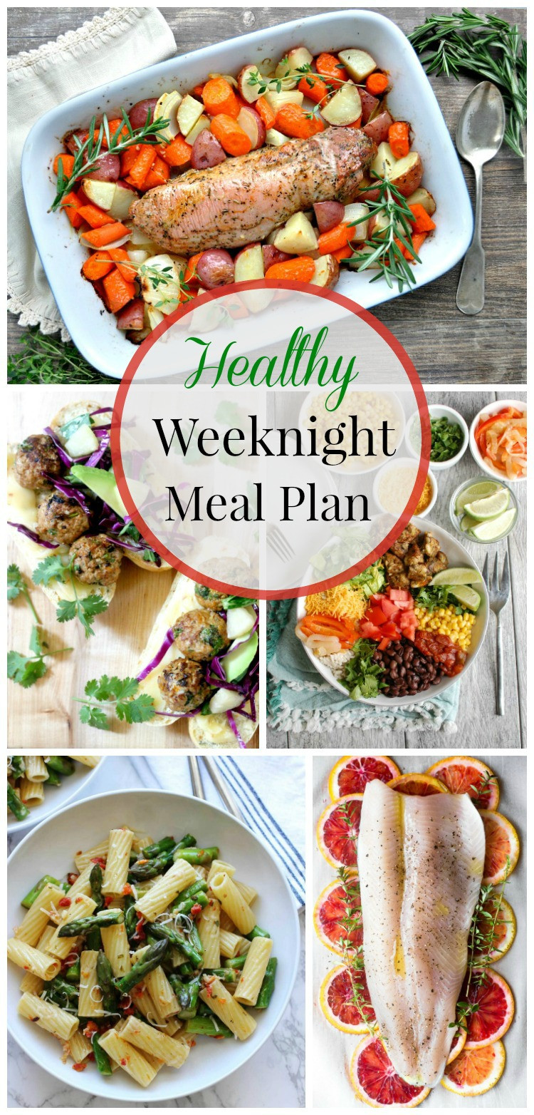 Healthy Weeknight Dinners  Healthy Weeknight Meal Plan 17 simply fresh dinners